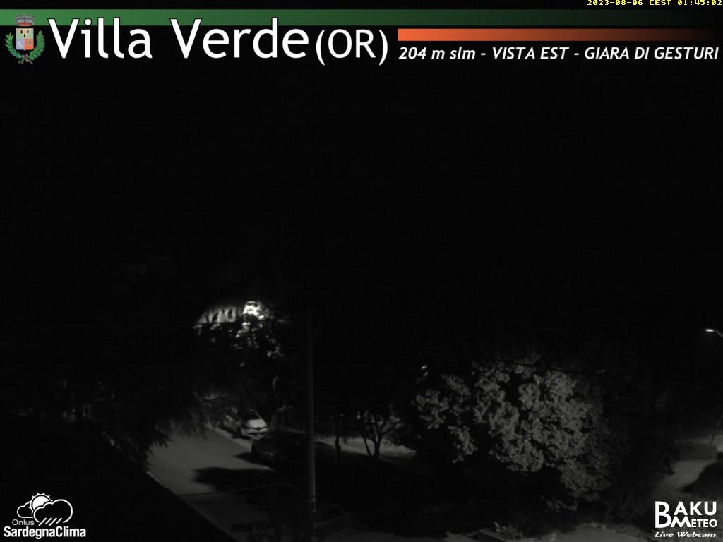 Meteo e webcam in diretta da villa verde or sardegna