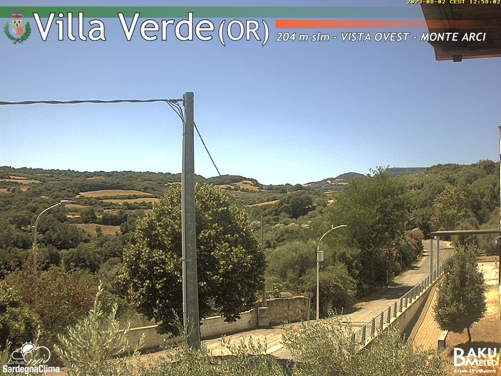 Servizio Webcam del Comune di Villa Verde