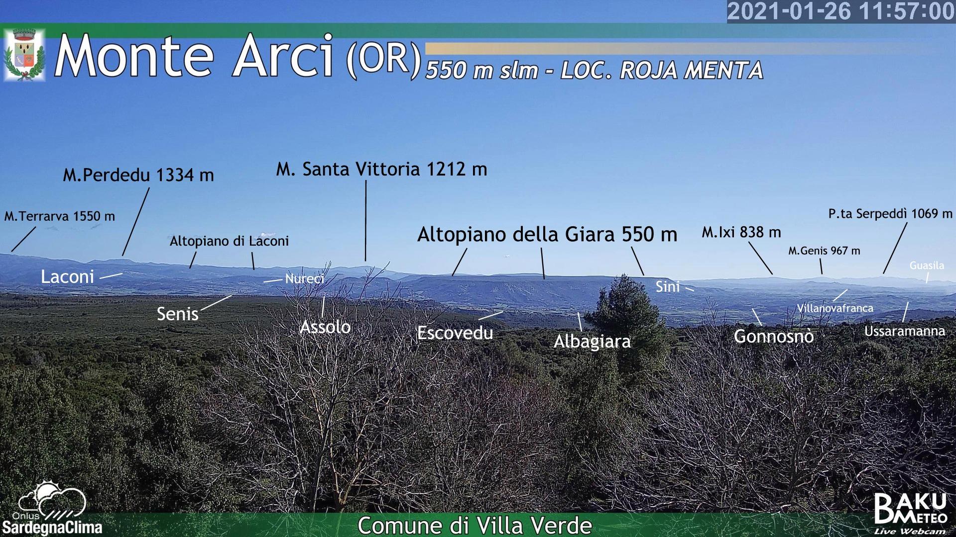 Servizio Meteorologico del Comune di Villa Verde